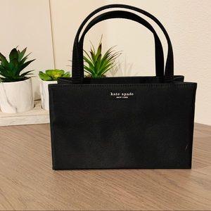 Kate Spade Mini Black Satin Evening Bag
